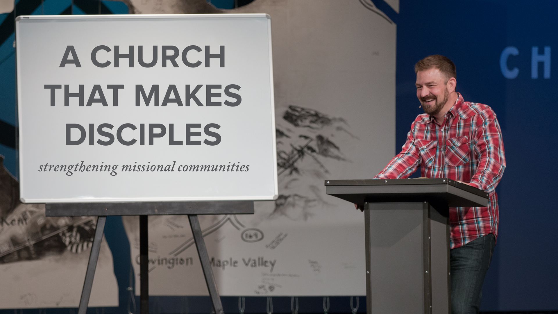 A Church That Makes Disciples