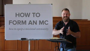 How to Form a Missional Community