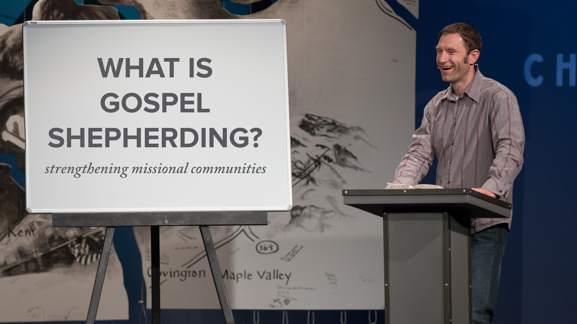 What is Gospel Shepherding?