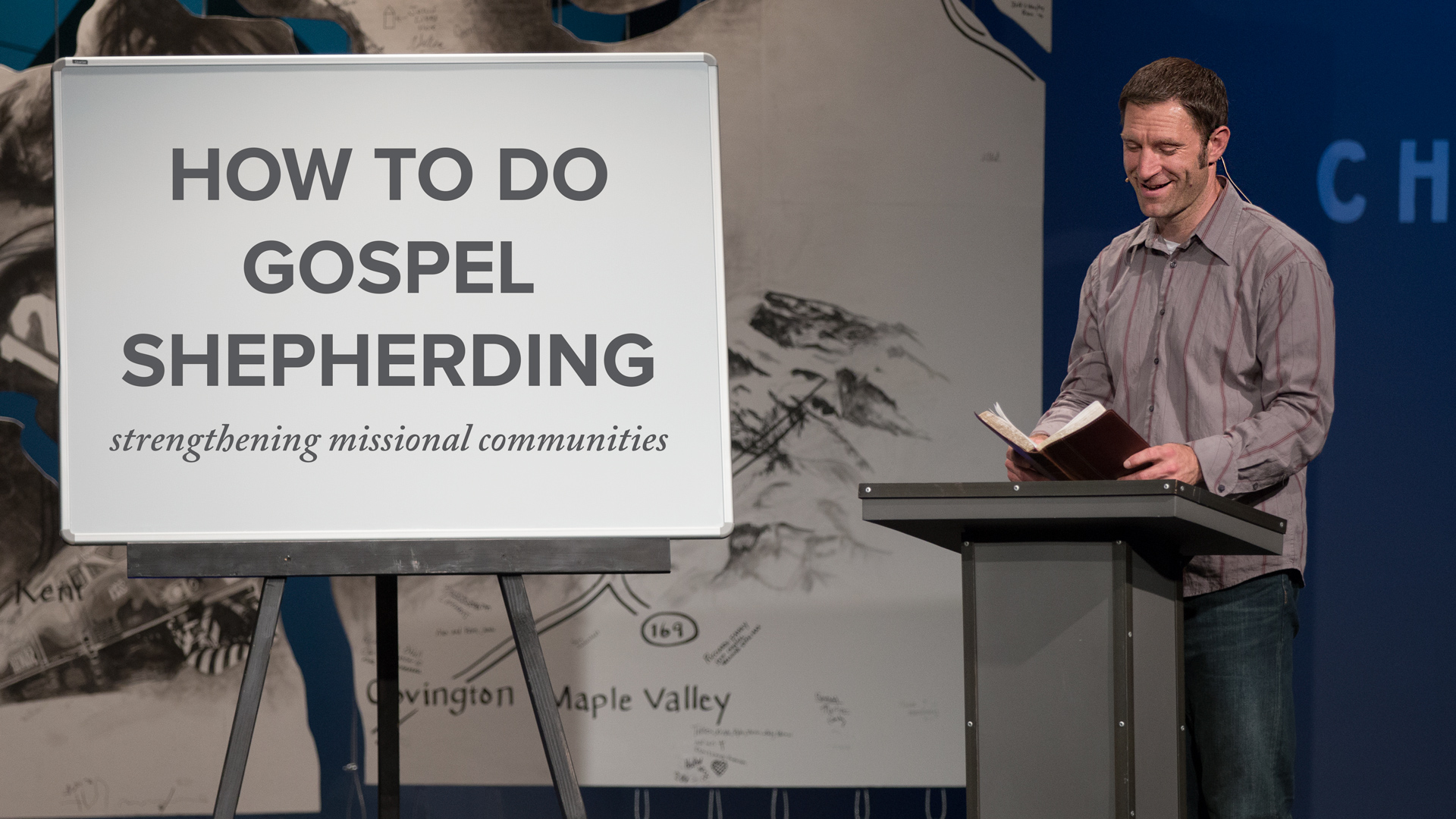 How to do Gospel Shepherding