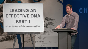 Leading an Effective DNA, Part 1