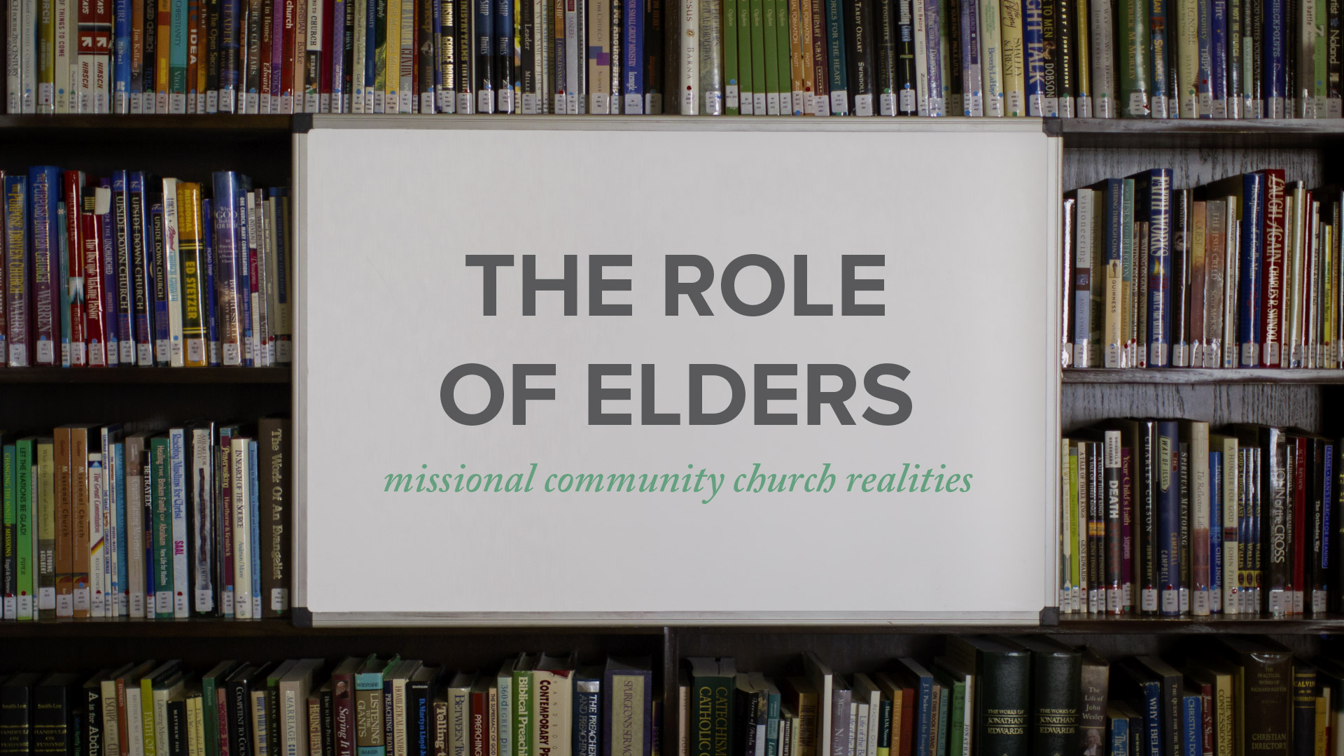The Role of Elders