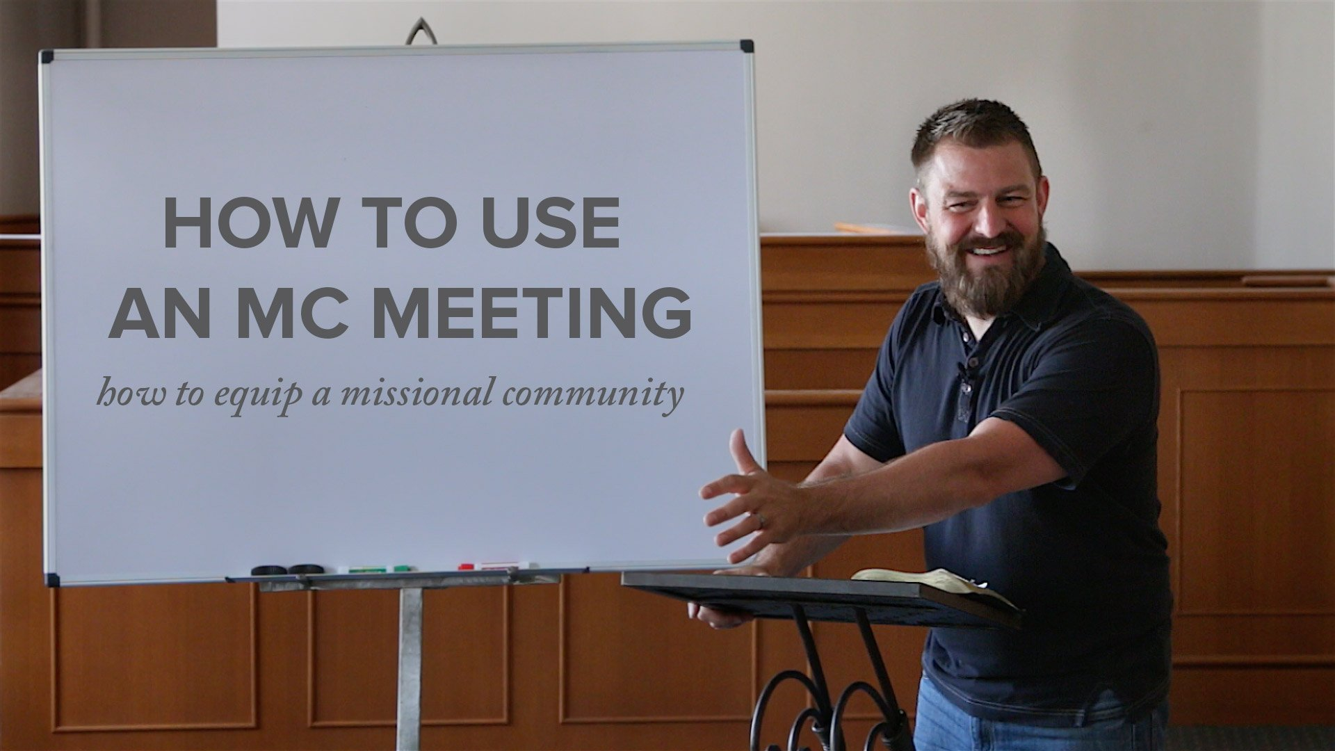 How to Use an MC Meeting