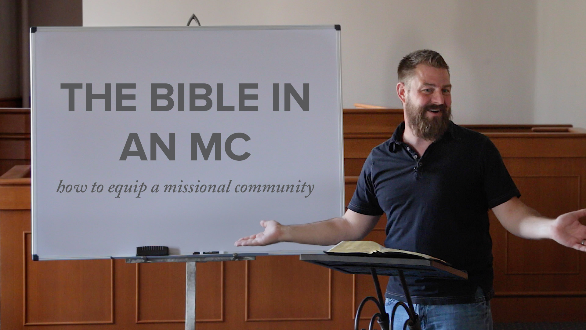 The-Bible in an MC
