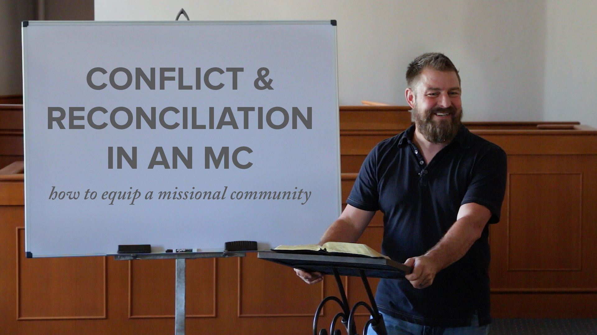 Conflict & Reconciliation in an MC