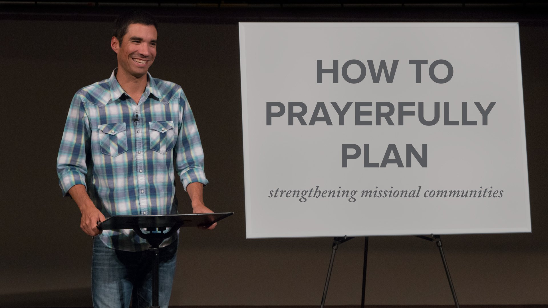 How to Prayerfully Plan