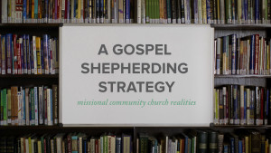 A Gospel Shepherding Strategy