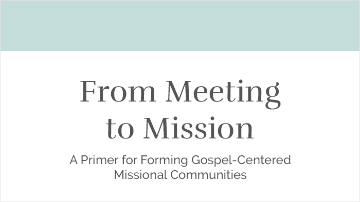 From Meeting to mIssion