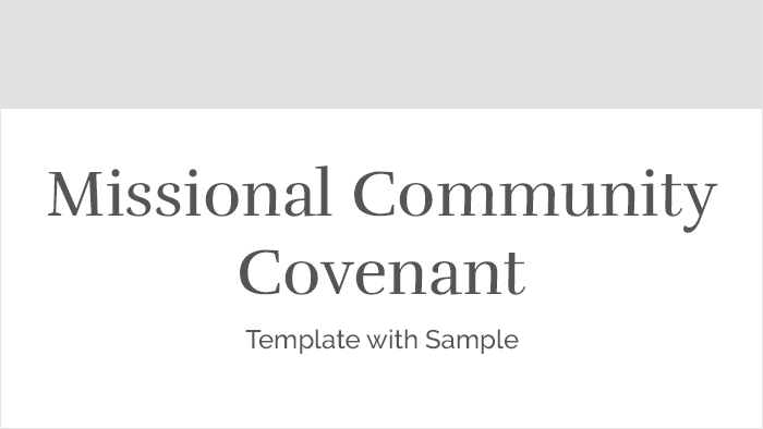 MC Covenant Template with sample thumb
