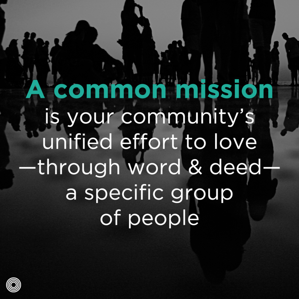 Start with a Common Mission - quote