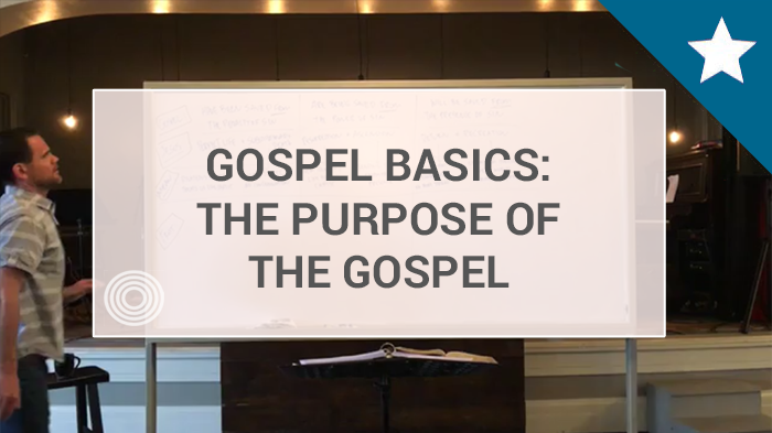 7 - The Purpose of the Gospel