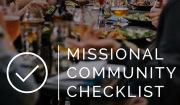 Missional Community Checklist | Saturatetheworld.com