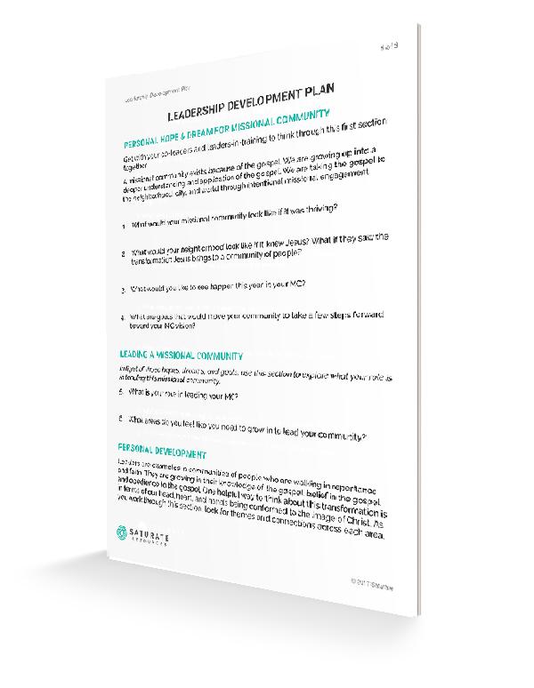 leadership development plan examples