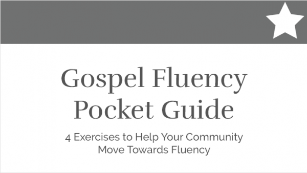 Gospel Fluency Pocket Guide - 4 Exercises