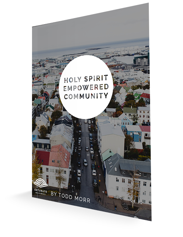 Empowered by the Holy Spirit for Life on Mission | Saturate