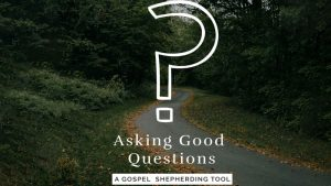 Asking Good Questions: A Gospel Shepherding Tool