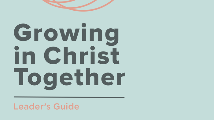 growing in christ leader saturate