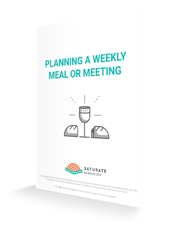 Planning weekly meeting | saturatetheworld.com