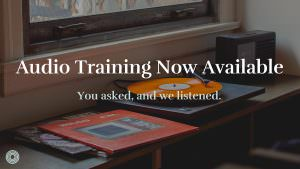 Key Audio Training Now Available