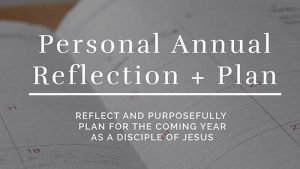 Personal Annual Reflection and Plan