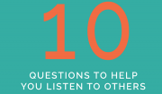 10 Questions to help you listen to others | saturatetheworld.com