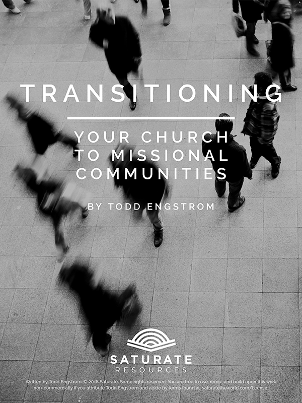 Transitioning Your Church to Missional Communities-Cover