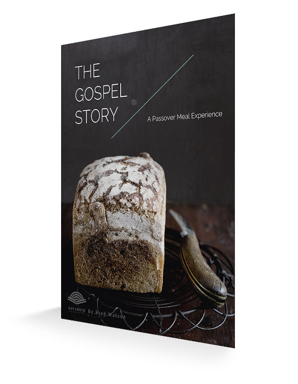 The Gospel Story- A Passover Meal Experience 3d cover