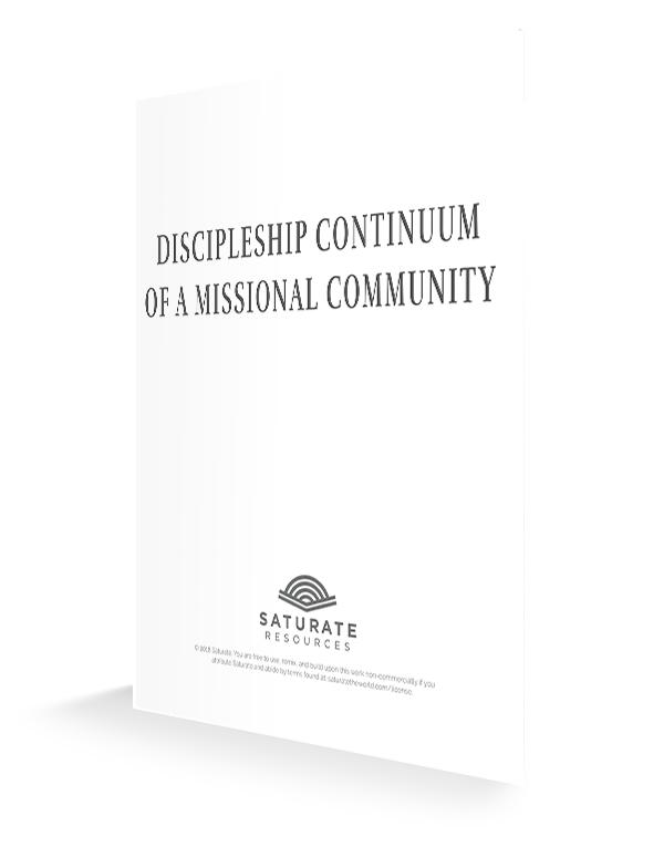 MC Discipleship Continuum