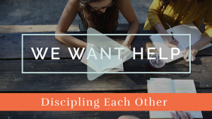 Discipling Each Other