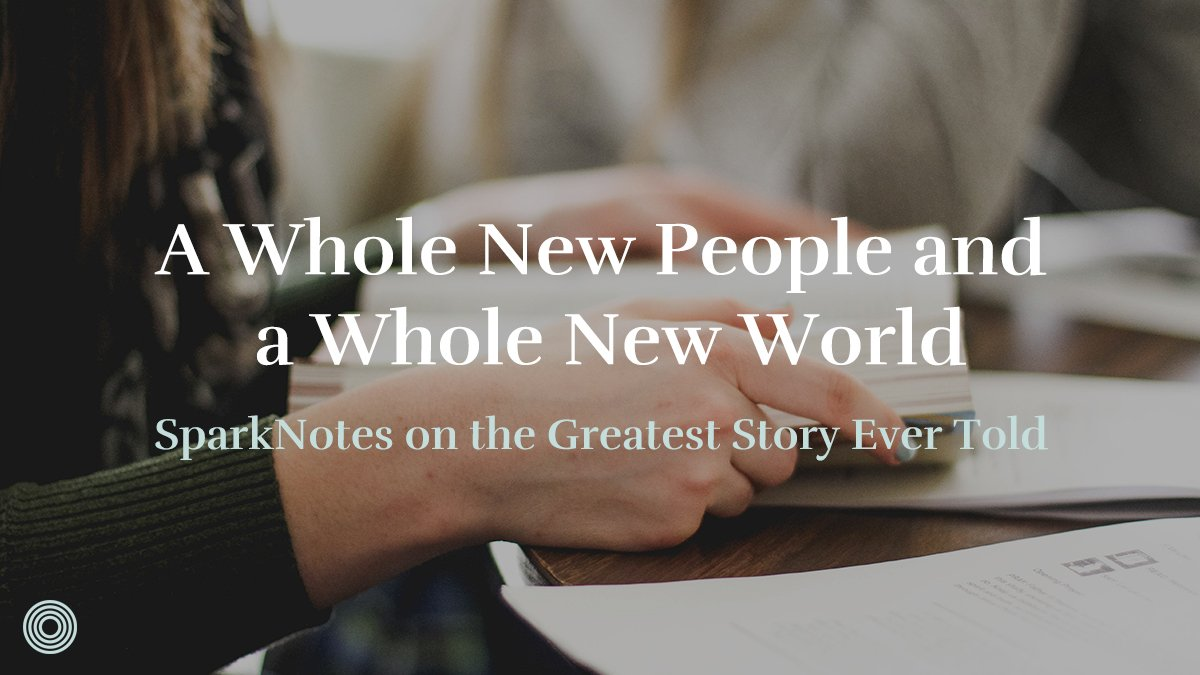 A Whole New People and a Whole New World | Saturate